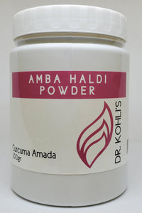 Amba Haldi Powder - Dr. Kohli's Herbal Products