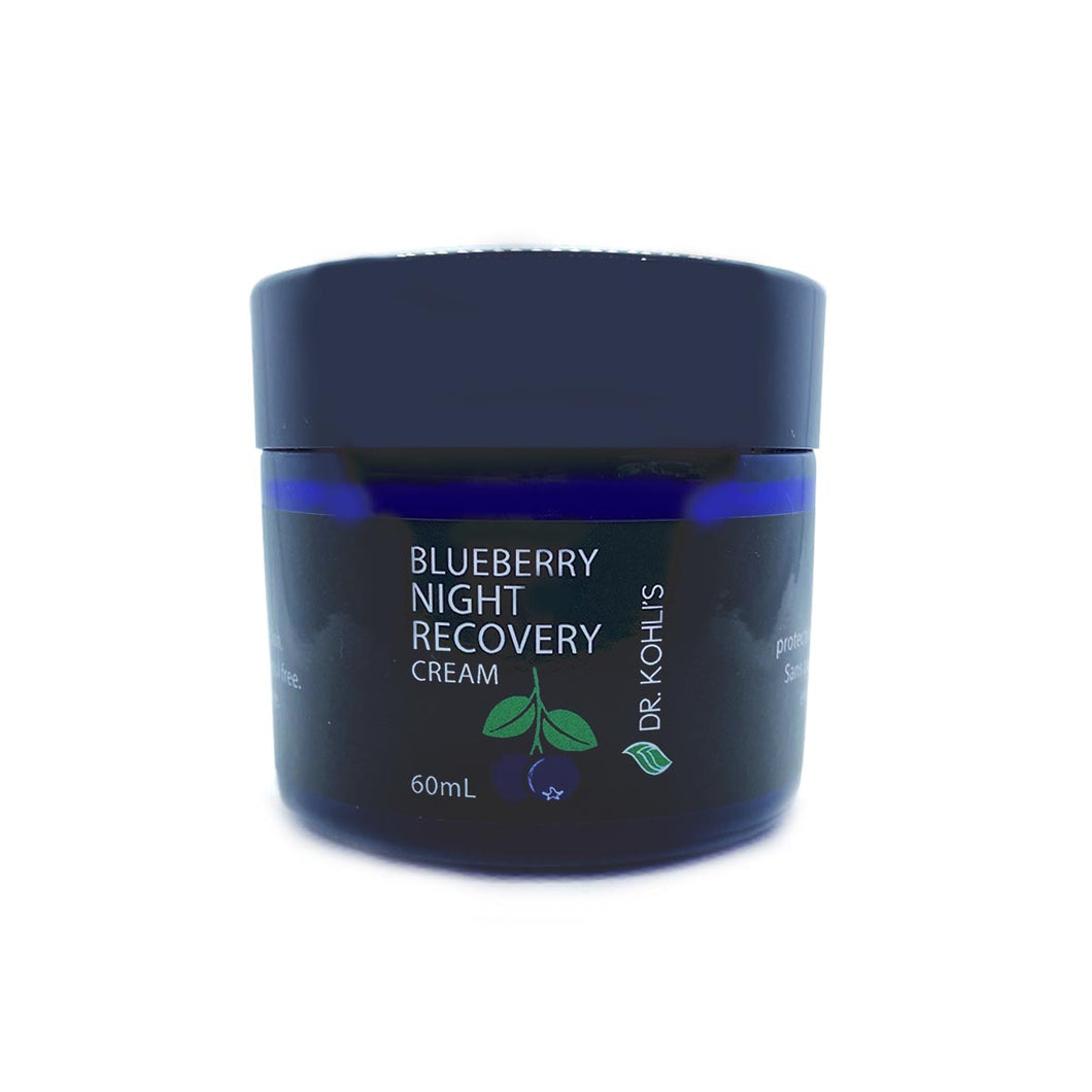 Dr. Kohli's Blueberry Night Recovery Cream - Dr. Kohli's Herbal Products