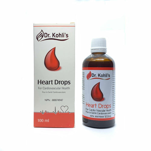 Heart Drops - Dr. Kohli's Herbal Products
