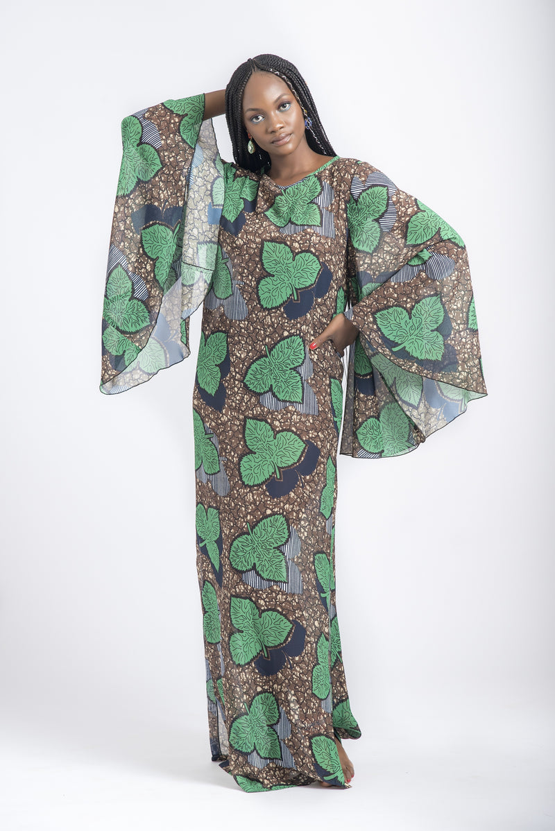ANGEL SLEEVE KAFTAN