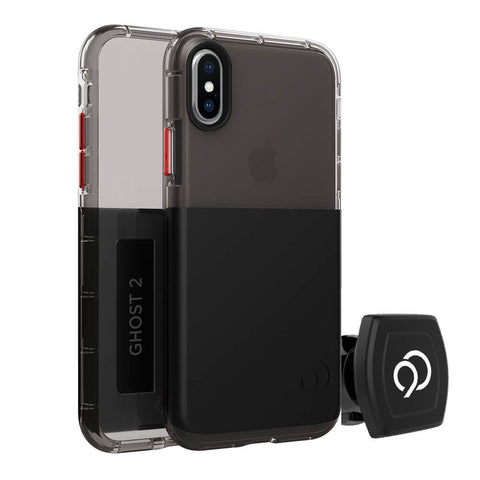 Nimbus9 - Ghost 2 Case with Mount for Apple iPhone XS / X - Black