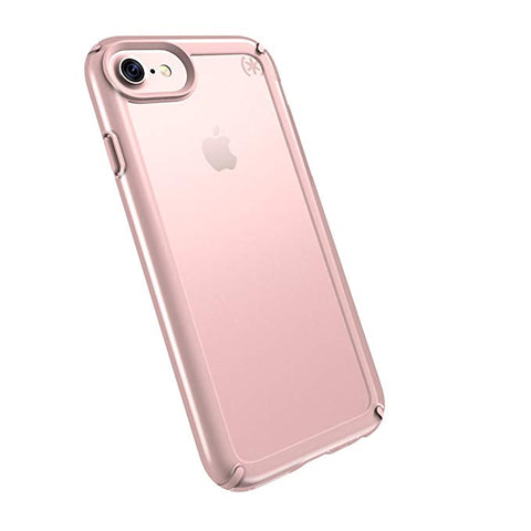 Speck Products Presidio Show Cell Phone Case for iPhone 7/6S/6 - Clear/Rose Gold