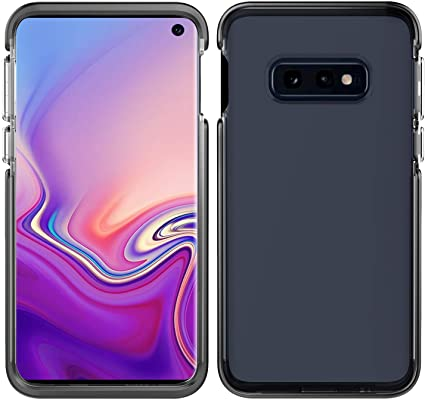 Pelican Ambassador Samsung Galaxy S10e Phone Case, Dual-Layer Drop-Tested Protective Smartphone Cover, Raised Bevels and Anti-Scratch Clear Back Accessory (Clear/Black)