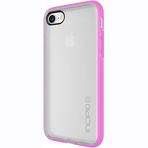 Incipio Octane iPhone 8 & iPhone 7 Case with Textured Bumper and Hard Shell Back for iPhone 8 & iPhone 7 - Frost/Pink