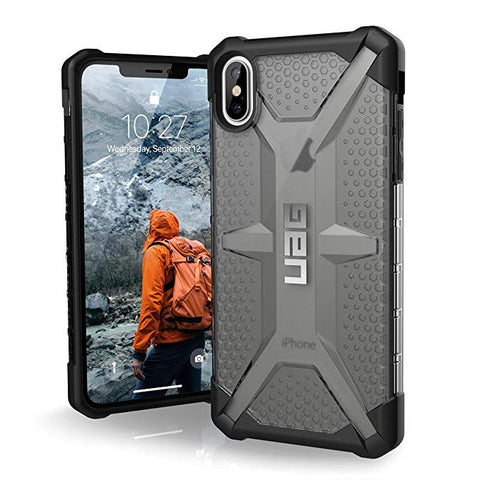 "UAG iPhone Xs Max [6.5"" Screen] Plasma Feather-Light Rugged [Ash]"