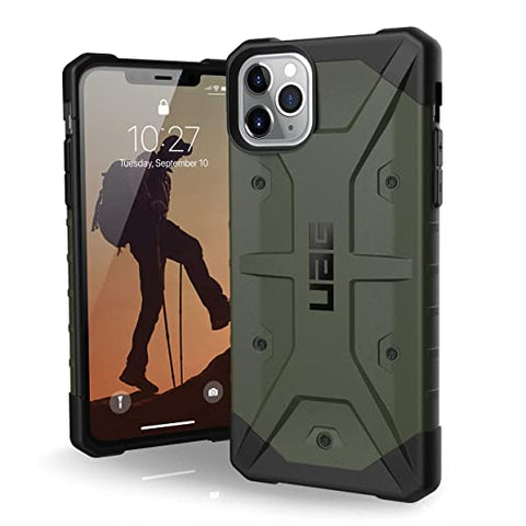 UAG Designed for iPhone 11 Pro Max [6.5-inch Screen] Pathfinder Feather-Light Rugged [Olive Drab]