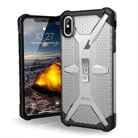 "UAG iPhone Xs Max [6.5"" Screen] Plasma Feather-Light Rugged [Ice]"