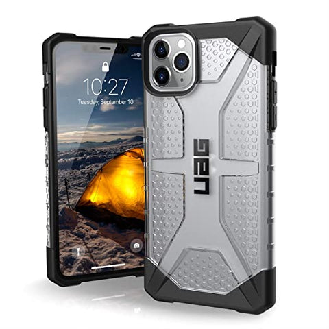 UAG Designed for iPhone 11 Pro Max [6.5-inch Screen] Plasma Feather-Light Rugged [Ice]
