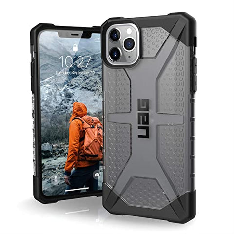 UAG Designed for iPhone 11 Pro Max [6.5-inch Screen] Plasma Feather-Light Rugged [Ash]
