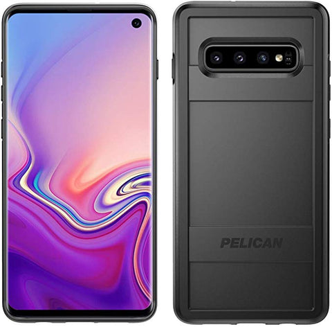 Pelican Protector Samsung Galaxy S10 Phone Case, Drop-Tested Protective Smartphone Cover (Black)