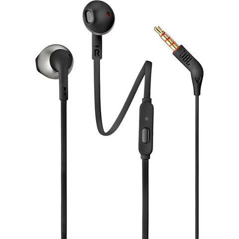JBL T205 Earbud Headphones (Black)