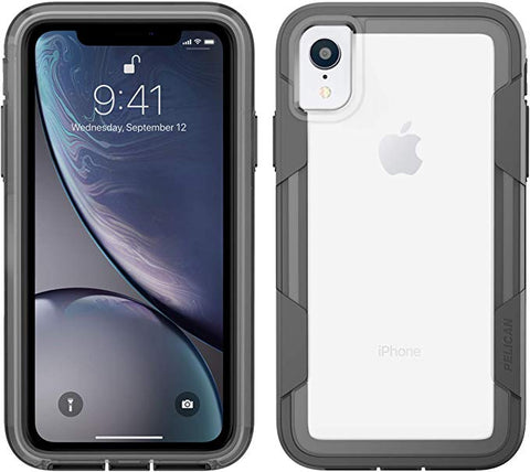 Pelican Voyager iPhone XR Case (Clear/Grey)