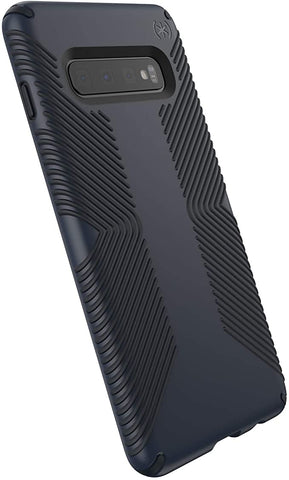 Speck Products Presidio Grip Samsung S10 Plus Case, Eclipse Blue/Carbon Black