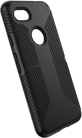 Speck Products phone Case, Presidio Grip, Black/Black, Only for Google Pixel 3a.
