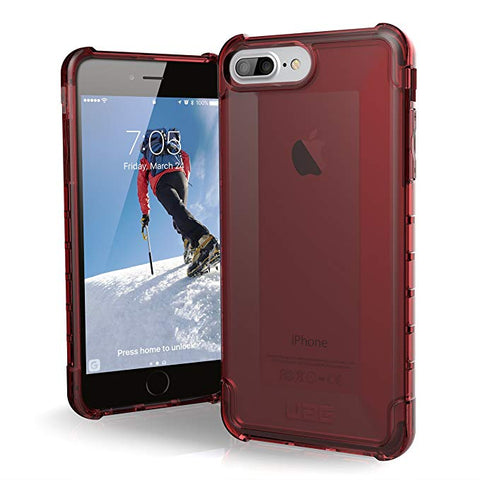 UAG iPhone 8 Plus/iPhone 7 Plus/iPhone 6s Plus Plyo Feather-Light Rugged [Crimson] Military Drop Tested iPhone Case