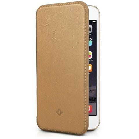 IPhone 6/6S Flip Wallet Camel