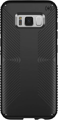 Speck Products Presidio Grip Cell Phone Case for Samsung Galaxy S8 Plus - Black/Black