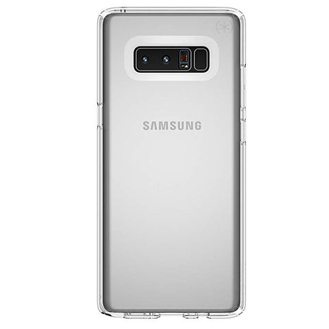 Speck Products Presidio Clear Cell Phone Case for Samsung Galaxy Note8 - Clear/Clear Presidio Clear