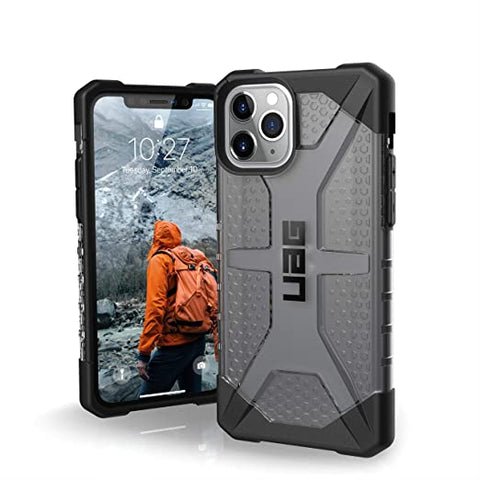 UAG Designed for iPhone 11 Pro [5.8-inch Screen] Plasma Feather-Light Rugged [Ash]