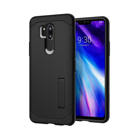 Spigen - Slim Armor Case for LG G7 ThinQ LMG710EM - Metal Slate