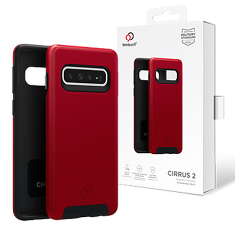 Nimbus9 - Cirrus 2 Case for Samsung Galaxy S10 - Crimson