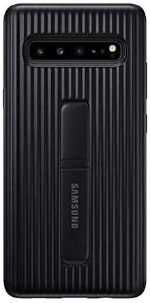 Samsung Galaxy S10 5G Rugged Protective Case with Kickstand (Black)