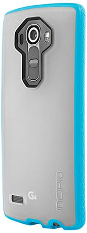 LG G4 Case, Incipio [Clear] Octane Case for LG G4-Frost/Neon Blue