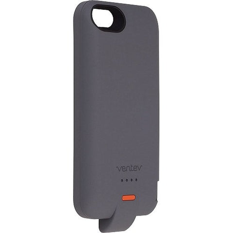 Ventev Powercase 1500 mAh Gray for iPhone 5/5S - Retail Packaging - Gray