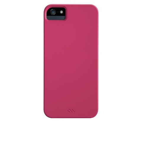 Case-Mate Barely There Case with Liner for iPhone 5/5S - Retail Packaging -Lipstick Pink