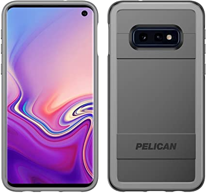Pelican Protector Samsung Galaxy S10e Phone Case with AMS Car Vent Mount, Drop-Tested Protective Smartphone Cover, Wireless Charging-Compatible Accessory (Black)