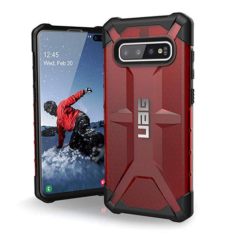 UAG Case For Samsung Galaxy S10 Plus [6.4-inch Screen] Plasma [Magma]