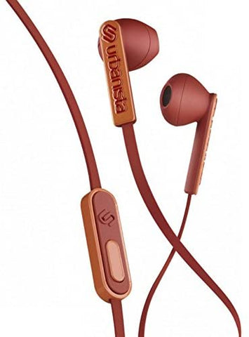 Urbanista San Francisco Ergonomic Earphones with Remote and Mic, Rusty Road Snapper