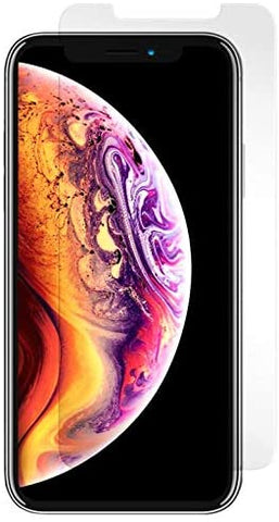"mWorks mShield Tempered Glass Screen Protector for iPhone Xs Max (6.5"" Screen) - Retail Packaging - Clear"