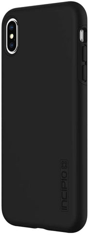 "Incipio DualPro Dual Layer Case for iPhone XS Max (6.5"") with Hybrid Shock-Absorbing Drop Protection - Black"
