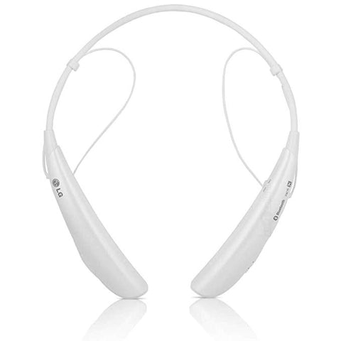 LG Electronics Tone Pro HBS-750 Bluetooth Wireless Stereo Headset - White