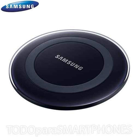Samsung Qi Certified Fast Charge Wireless Charging Pad with 2A Wall Charger -Supports wireless charging on Qi compatible smartphones - Black