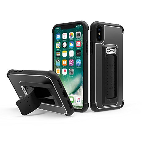 Scooch Wingman iPhone X Phone Case (Black)