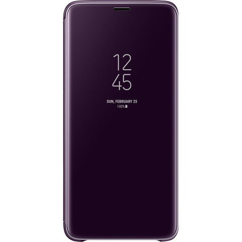 Samsung S-View Case for Galaxy S9 Plus (Violet)