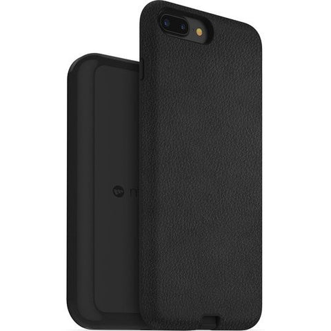 Mophie Charge Force Case & Wireless Charging Base for iPhone 7 Plus & iPhone 8 Plus - Black