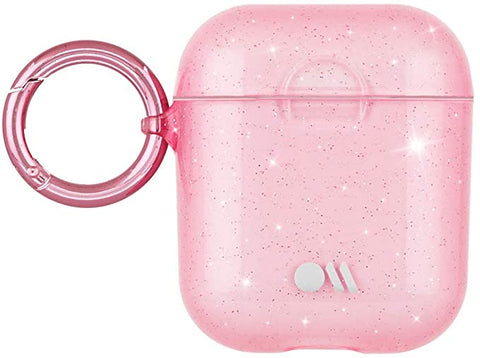 Case-Mate - Airpods Case - SHEER Crystal - Compatible with Apple Airpods Series 1 & 2 - Crystal Blush