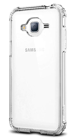 Spigen Crystal Shell Designed for Samsung Galaxy J3 2016 Case Clear Crystal