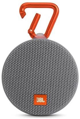 JBL Clip 2 Waterproof Portable Bluetooth Speaker (Grey)