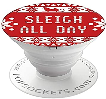 PopSockets Holiday Cell Phone Grip & Stand - Sleigh All Day