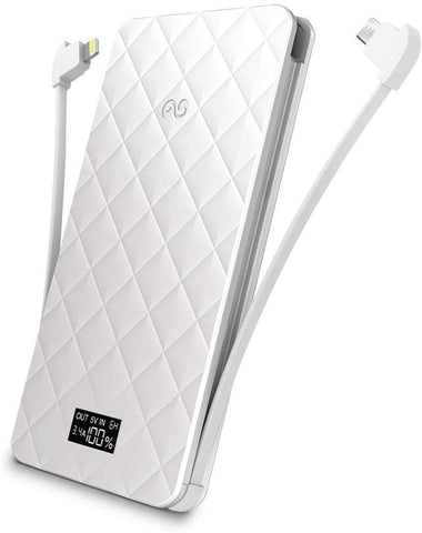 iWalk Extreme Trio Ultra Slim Battery Pack 6000 mAh - Retail Packaging - White