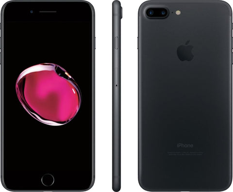 Apple - iPhone 7 Plus 32GB - Black (Sprint/Boost Mobile) A/B STOCK with all original accessories (May not come with box).