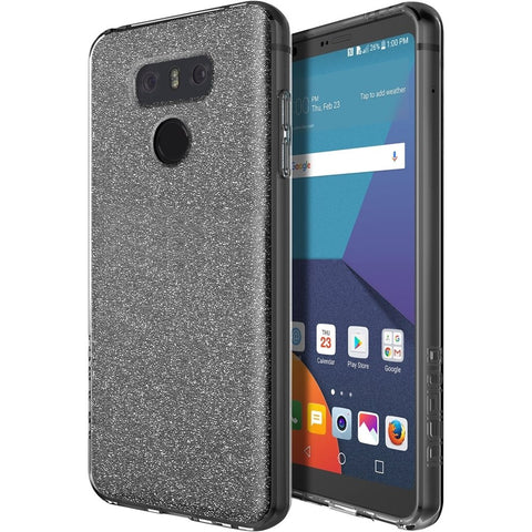 Incipio - Design Series Case for LG G6 - Sparkle silver