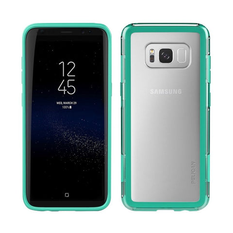 PELICAN - Adventurer Case for Samsung Galaxy S8 Plus - Teal/clear