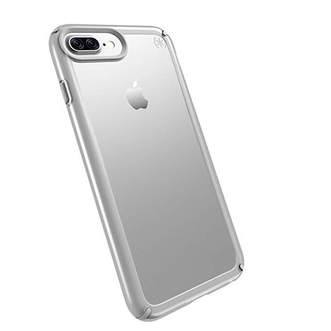 Speck Products Presidio Show Cell Phone Case for iPhone 7/6S/6 - Clear/Sterling Silver