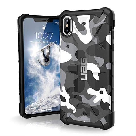 "UAG iPhone Xs Max [6.5"" Screen] Pathfinder Camo Feather-Light Rugged [Arctic]"