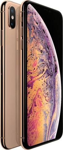 Apple - iPhone XS Max 64GB - Gold (Sprint/Boost Mobile) A/B STOCK with all original accessories (May not come with box).